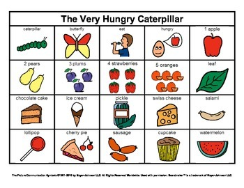 Story Boards (Set 9 - Very Hungry Caterpillar & Old Lady W