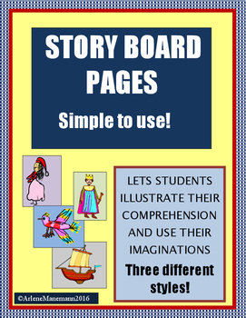 Story Boards for Student Illustrations
