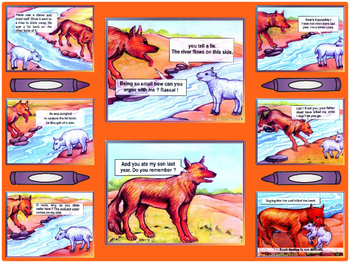 Story Book-1 The Cunning Fox