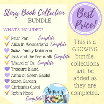 Story Book Collection Clip Art (Growing Bundle)