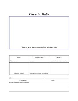Story Book Elements for Story Book Detectives