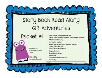 Story Book Read Along QR Adventures #1