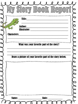 Story Book Reports