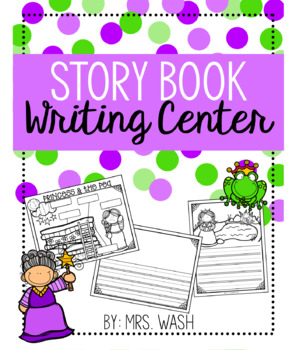 Story Book Writing Center