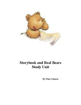 Story Book and Real Bears - a Study Unit