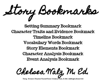 Story Bookmarks
