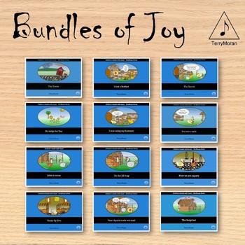 Story Books - Set of 12 books
