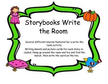 Story Books Write the Room