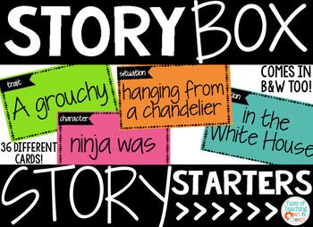 Story Box Story Starters