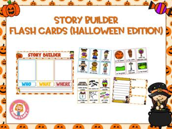 Story Builder Flash Card (Halloween Edition)