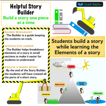 Story Builder Guided worksheet