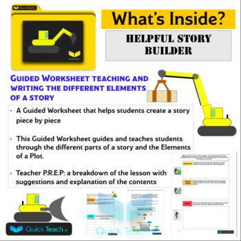 Story Builder Guided worksheet
