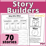 Story Builders, Narrative Generation, Creative Writing, Create A Story