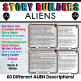 Story Building Cards - Aliens