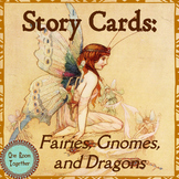 Story Cards and Activities, Written and Oral Writing Promp