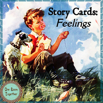 Story Cards and Activities, Written and Oral Writing Prompts, Emergent Literacy