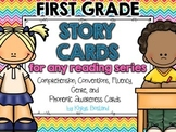 Story Cards for ANY Reading Series! {Comprehension, Genre, Fluency, and more}