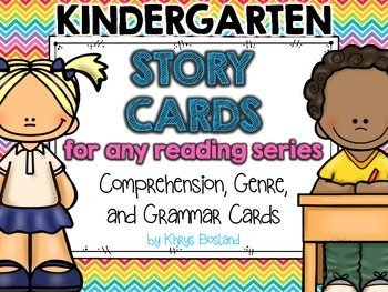 Story Cards for ANY Reading Series! {Comprehension, Genre, and Grammar Cards}