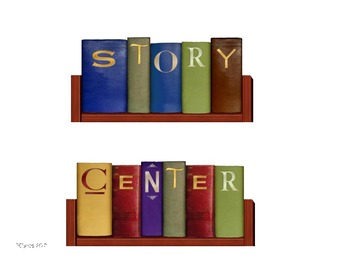 Story Center Sign