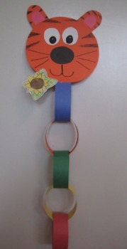 Story Chain for Jungle or Zoo Theme