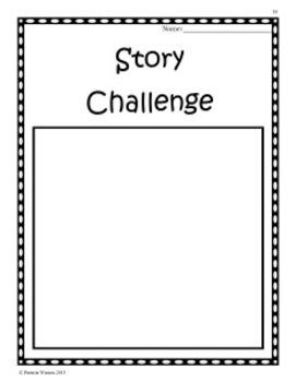 Creative Writing Story Challenges