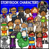 Story Characters Clip Art Set {Educlips Clipart}