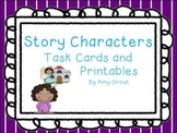 Story Characters Task Cards and Printables