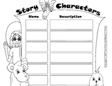 Story Characters with Miss Margie