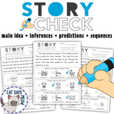 Story Check: NO PREP Main Idea, Predicting, etc. with Pict