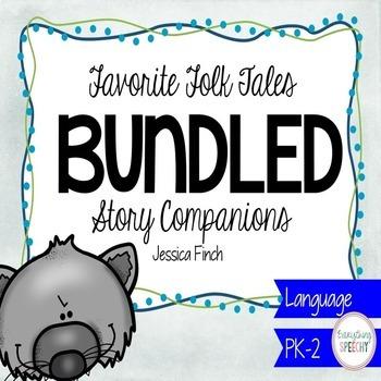 Story Companion BUNDLE: Favorite Folk Tales