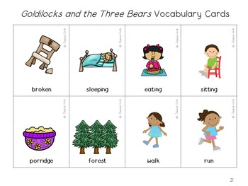 Story Companion: Goldilocks and the Three Bears