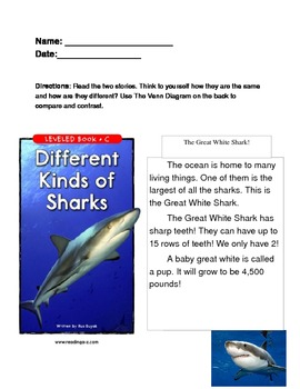 Story Compare: Sharks