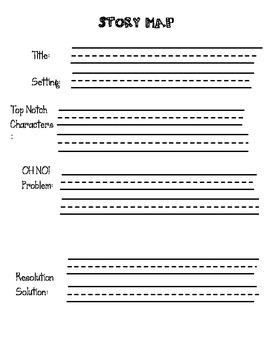Story Comprehension Graphic Organizer