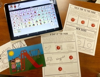 Story Comprehension for AAC Users