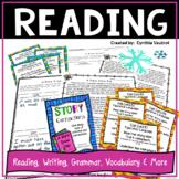 Reading!  Sub Plans!