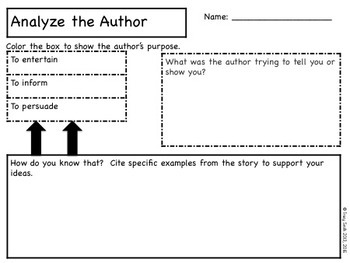 Story Elements - The Story Critic - Use these materials with ANY book!