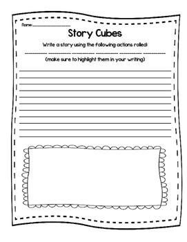 Story Cubes Free Write