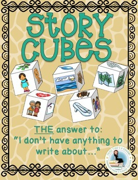 Story Cubes: Roll and Write Exciting Fiction Stories!