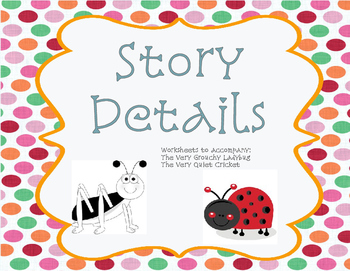 Eric Carle : Story Details