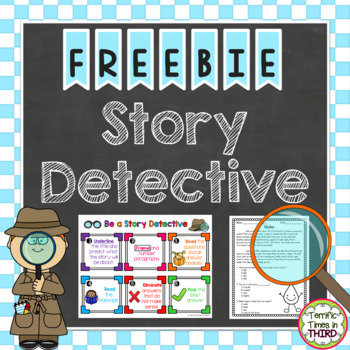 Story Detective: A Strategy for Reading Comprehension