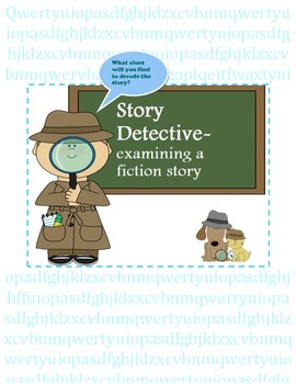 Story Detective- context clues in a fiction story