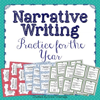 Narrative Writing Practice and Activities {BUNDLE}