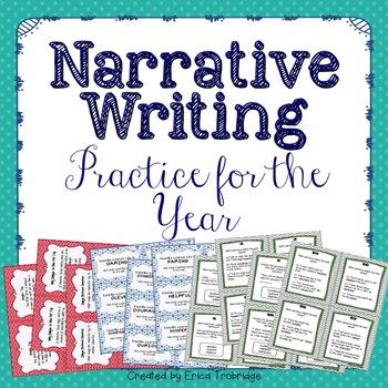 Narrative Writing Printables and Activities {BUNDLE}