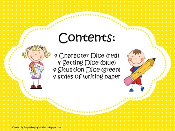 Story Dice Center