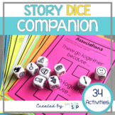 Story Dice Companion for Speech Therapy Story Telling Cubes