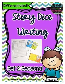 Story Dice Writing- Seasonal Set