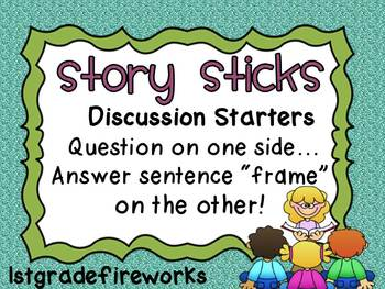Story Discussion Sticks