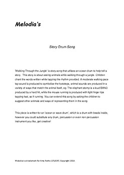 Story Drum Song