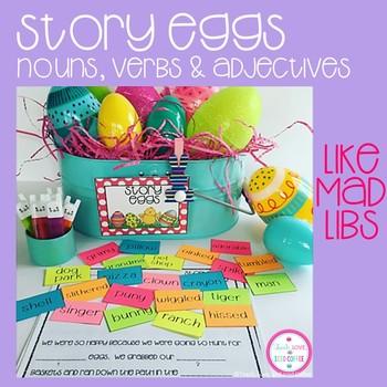 Story Eggs-Easter Egg Mad Libs