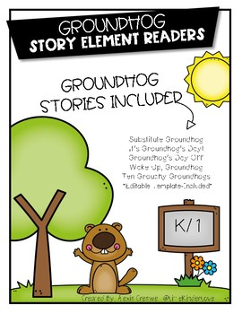 Story Element Book-Groundhog Stories